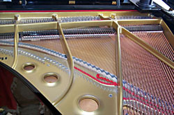 Grand Piano plate and soundboard